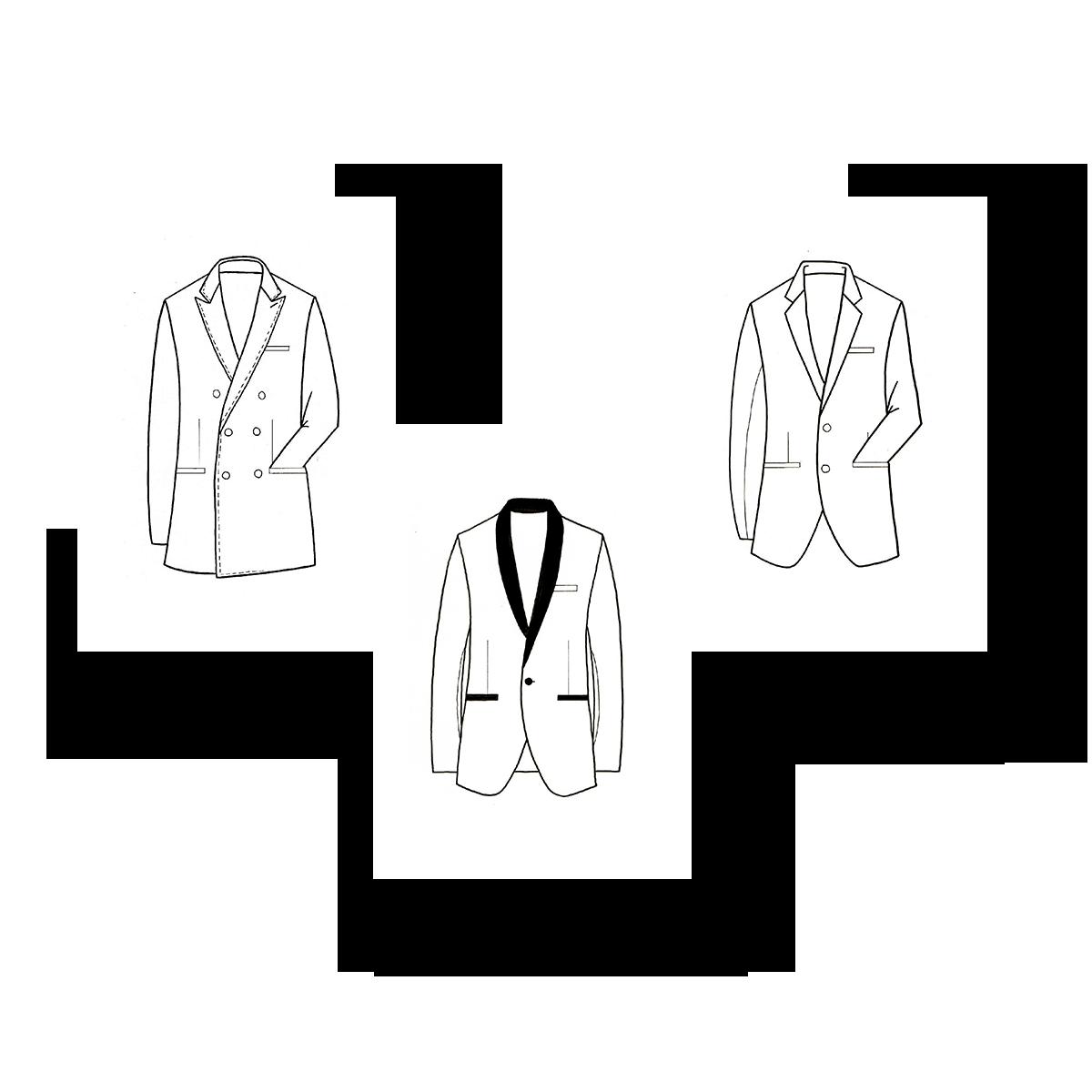 Abbigliamento classico su misura - Archivio R Sartoria Contemporanea a Torino